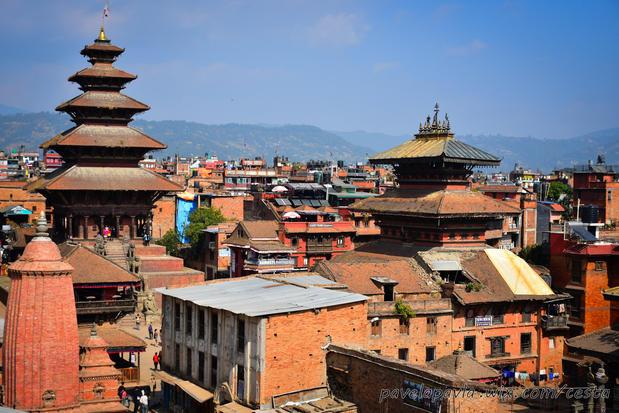 Bhaktapur panorama