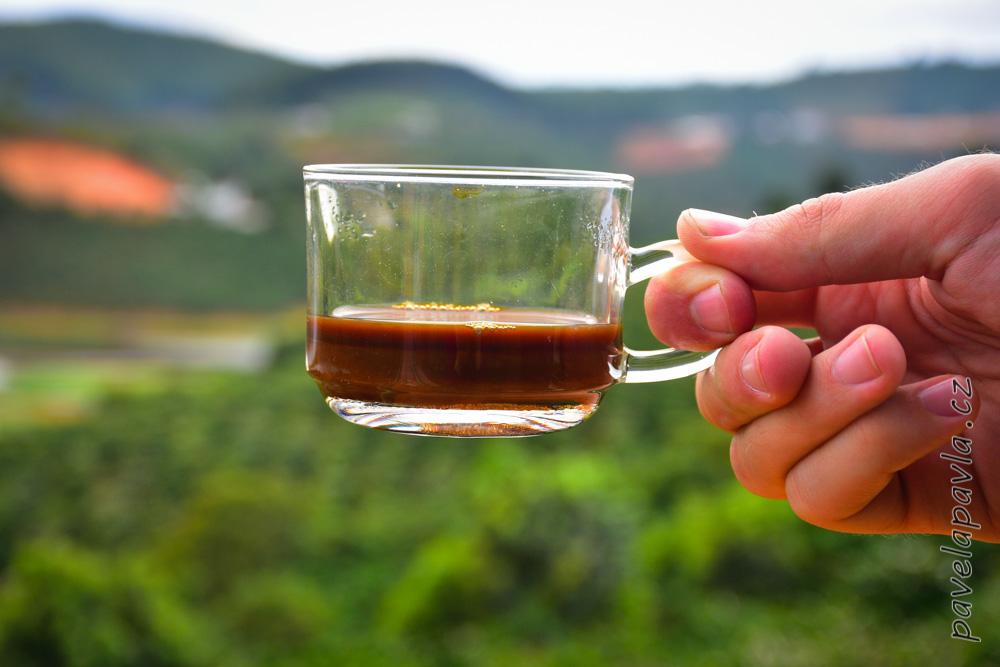 Dalat perfect cup of coffee